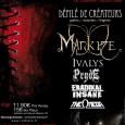 La Red Note revient à Marseille le Samedi 12 Mars 2011 au Cabaret Aléatoire. Ce festival est composé d'un défilé de mode et d'un concert rock / métal. Pour cette...