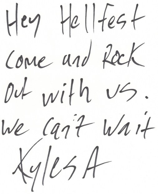 KYLESA_Hellfest_2011