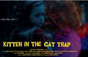 Kitten in the Cat Trap POSTER