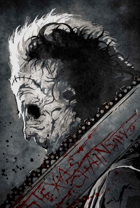 12-texas-chainsaw-3d-fan-poster