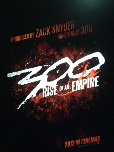 New Poster For '300: Rise Of An Empire' - Bloody Disgusting