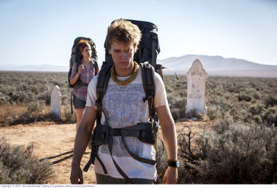 WolfCreek2_Front Phillipe Klaus as Rutger and rear Shannon Ashlyn as Katarina_bush grave
