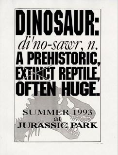 John Alvin - Jurassic Park poster - 4