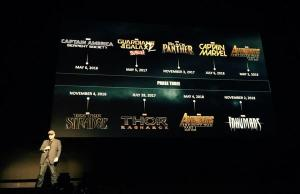 Marvel-lineup