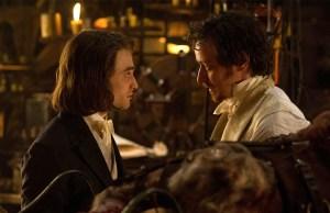 VICTOR FRANKENSTEIN, via Fox, starring Daniel Radcliffe, James McAvoy, Jessica Brown Findlay, Andrew Scott, Freddie Fox.