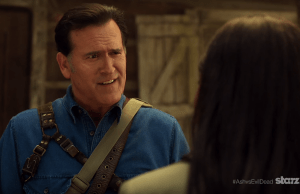ASH VS EVIL DEAD | via Starz