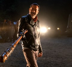Jeffrey Dean Morgan as Negan - The Walking Dead _ Season 7, Episode 1 - Photo Credit: Gene Page/AMC