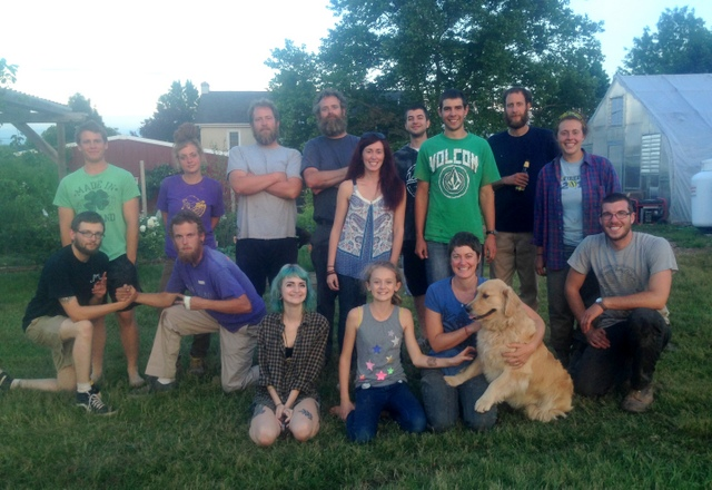 Summer crew 2015.