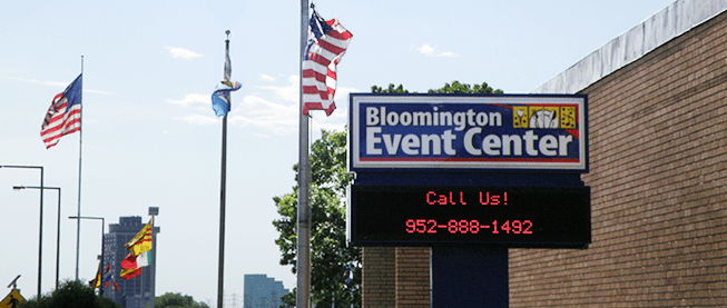 Welcome to the Bloomington Event Center!