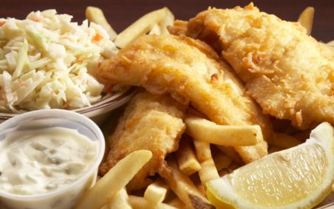 All You Can Eat Fish Fry – Every Friday!