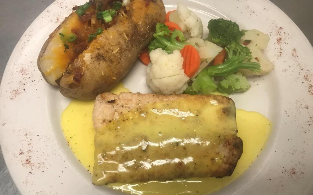 December Seafood Special – Pan-Seared Mahi-Mahi