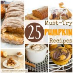 25 Must-Try Pumpkin Recipes for Fall