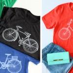 Vintage Bicycle Tees (reg. $28.99) ONLY $13.99!
