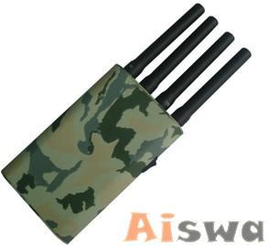 El mejor teléfono móvil portátil y GPS Jammer con cubierta de camuflaje de China Ai007833