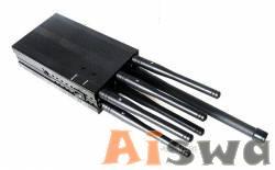 Mejor antenas celulares Bloqueador de 08 de junio frecuencias Bloqueia Celular, GSM, GPS, Bluetooth y LoJack ventilada de China Ai007829