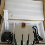 10W Potencia Bloqueador de Celular 3G CDMA GPS WiFi com Controle Remoto 4