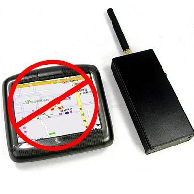 Bloqueador de GPS portátil + Carregador Veícular 15 Metros