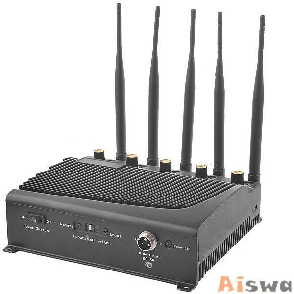 Bloqueador de GPS, Celular,GSM800, CDMA900 ,DCS/PHS/GSM1800-1900, Wifi 2.4Ghz e 3G