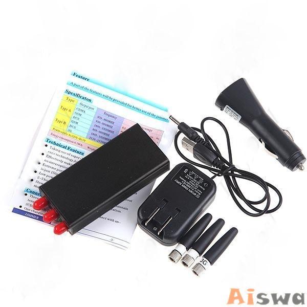 Bloqueador de GPS GSM CDMA DCS PHS GPS 1
