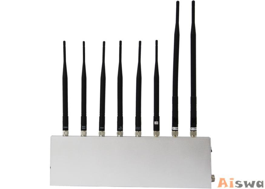 Bloqueador de VHF / UHF,GPS, Celular GSM , CDMA , PHS , 3G, WiFi