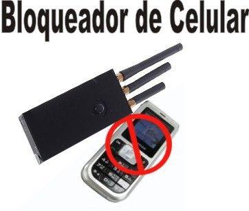 BLOQUEADOR DE SINAL DE CELULAR