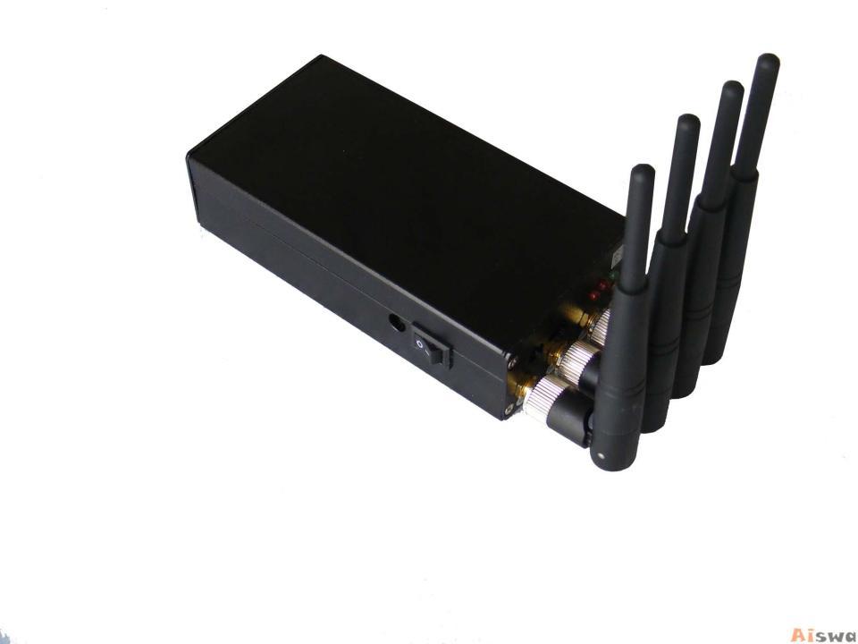Bloqueador Portátil 4 antenas