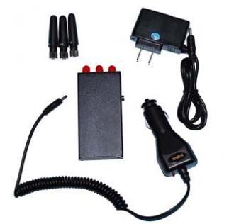 Bloqueador Portátil GPS GSM