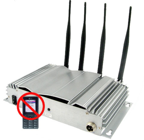 Bloqueador de Señal 4 Antenas