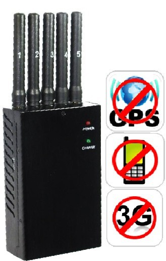 BLOQUEADOR DE SINAL DE CELULAR GPS 3G WIFI