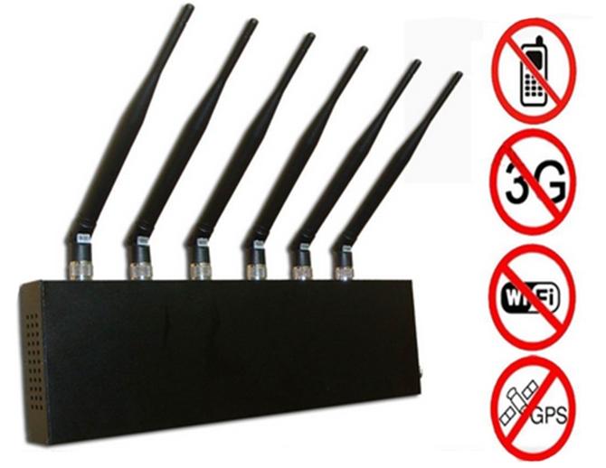 señales de 6 antenas wifi