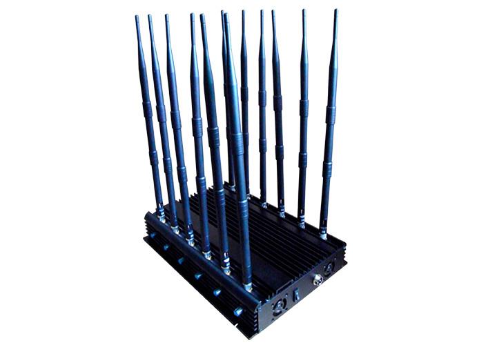 Inhibidor de Frecuencias 12 antenas 30W