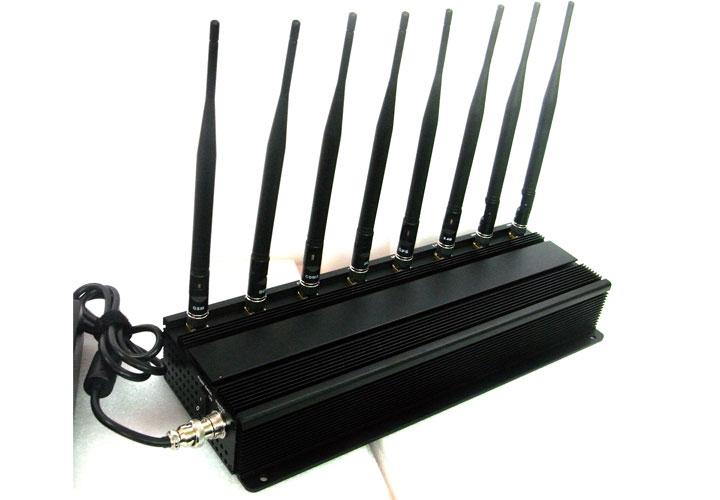 Inhibidor de Frecuencias 8 Antenas 19W