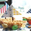 Sailboat Rice Crispy Treats!