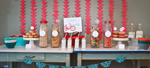 Lovely Cereal Bar Party