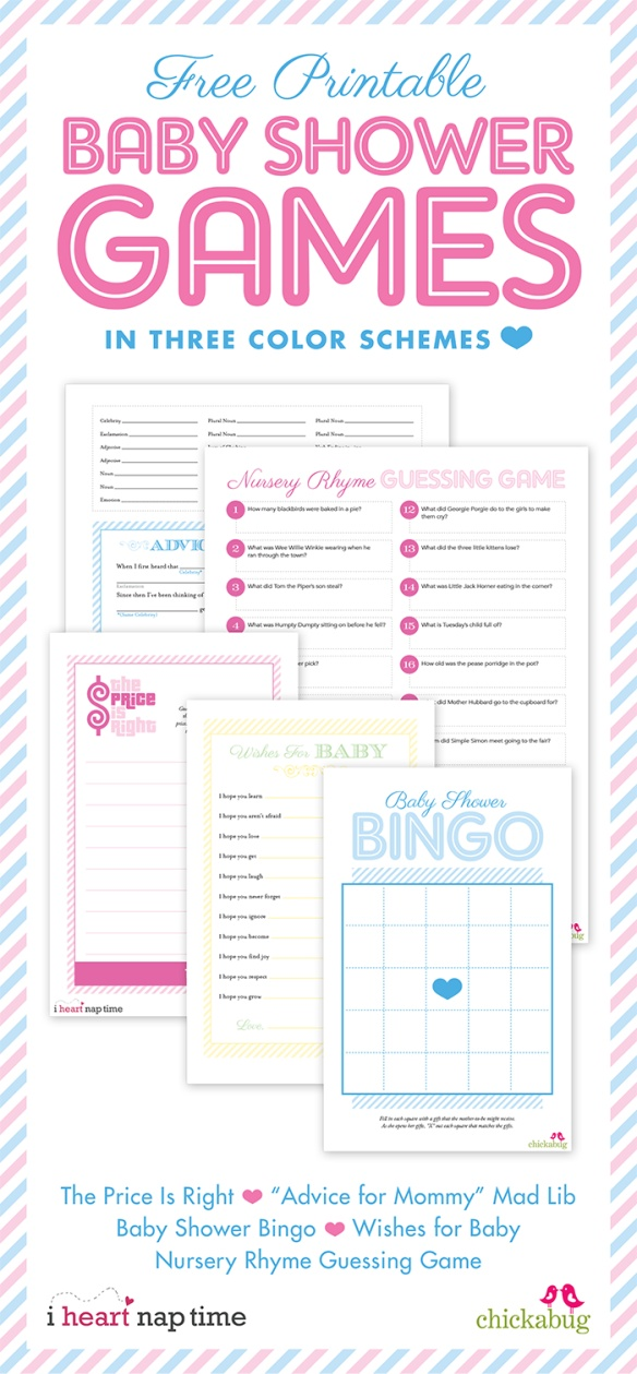 free baby shower games for boys and girls