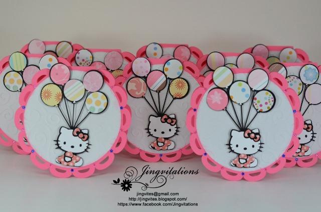 Amazing Hello Kitty invitations