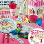 Candy party supplies