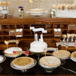 Cute way to display pies!