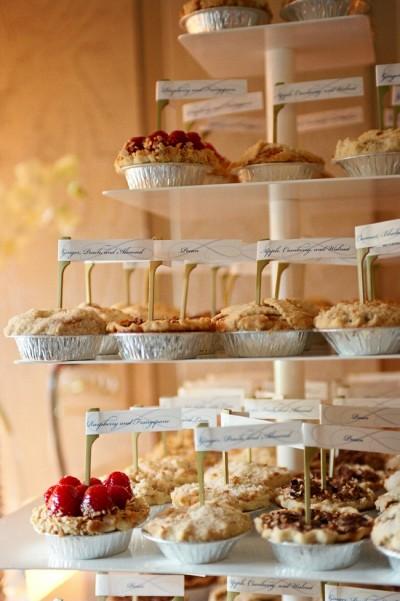 Mini Pie Dessert bar