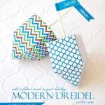 free DIY dreidel printable