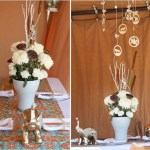 Love the look of this safari baby shower
