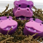 hippo soaps!-great for safari baby shower favors!