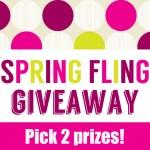 Spring Fling Giveaway!