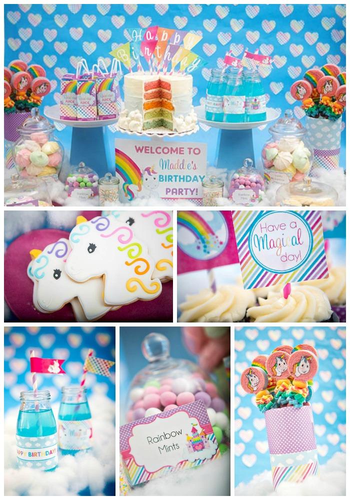 Rainbow Unicorn Party! - B. Lovely Events