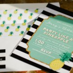 Let's Have A Pineapple Party! {Invitations}