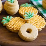 Let's Have A Pineapple Party! {Cookies}