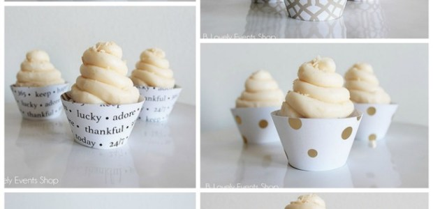 New Cupcake Wrappers At B. Lovely Events
