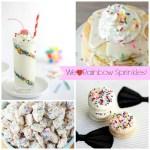 Rainbow Sprinkle Foods, Treats & Desserts! - B. Lovely Events