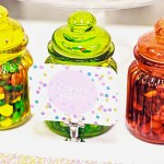 Sprinkle Party Decor-Lovely Sprinkle food cards!