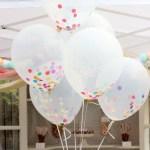 Super Cute Confetti Balloons